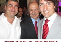 Dr pourgol with Dr Moridi %26 Justin Trudeau (1)