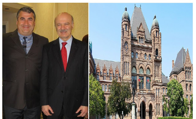 Dr Pourgol invited to Ontario parliament by cabinet minister