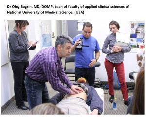Dr Oleg Bagrin%2C dean of faculty of applied clinical   sciences of National University of Medical Sciences USA