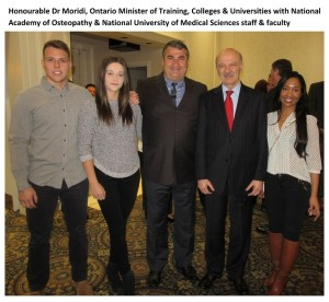 Ontario Cabinet Minister Invites Dr Pourgol to Fundraising Event (5)